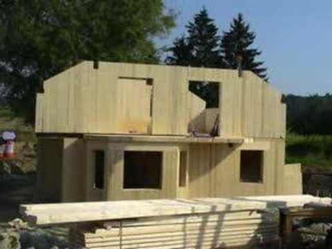 Szybka budowa domu drewnianego