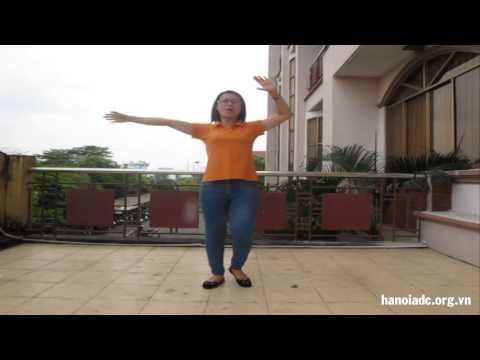 Hướng dẫn động tác dân vũ Việt Nam ơi - HanoiADC
