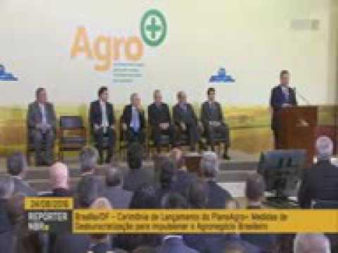 Plano Agro+ - ministro Blairo Maggi