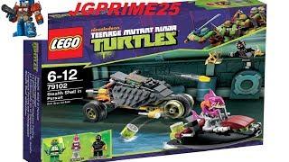 LEGO : TARTARUGAS NINJA 79102 PERSEGUIÇÃO