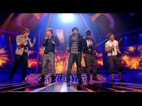 One Direction sing Viva La Vida - The X Factor Live (Full Version)