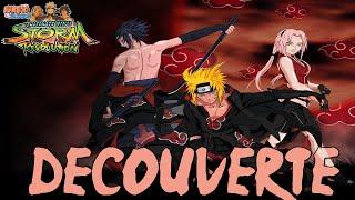 Découverte Naruto Shippuden : Ultimate Ninja Storm