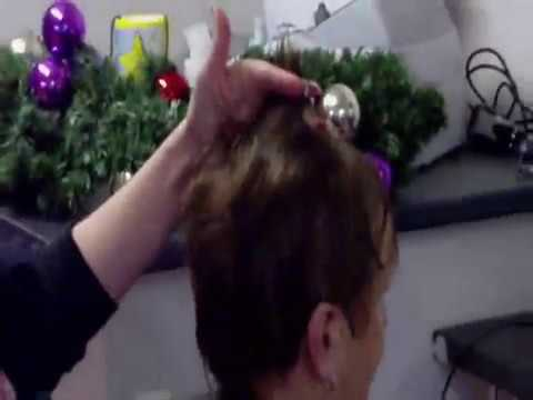 Barber Youtube : Haircut Lady Visits Barber - YouTube
