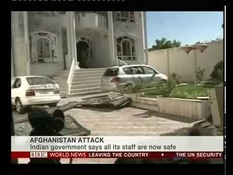 Indian consulate in Afghanistan under attack