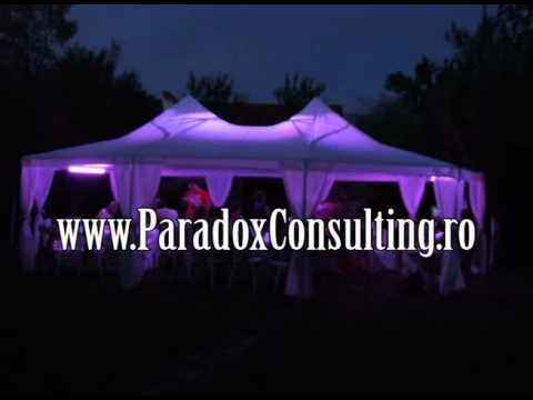 decor cu lumini arhitecturale nunta Timisoara www.ParadoxConsulting.ro gobo monograme logo nunta