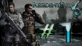 Resident Evil 6 Detonado (Walkthrough) Chris Parte 1 HD