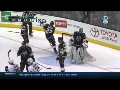 Pittsburgh Penguins vs Los Angeles Kings 30.01.2014