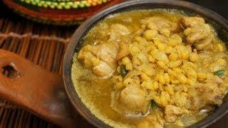 Chicken & Yellow Peas Recipe Doro be Misir (Ethiopian Food)