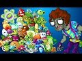 Plants vs Zombies 2 Every Plant Power Up vs Arcade Zombie PVZ 2 Plantas contra Zombies 2