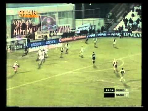 11–01–2004 Ολυμπιακός - ΠΑΟΚ 1–2