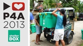P4A 2013: Shelterbox