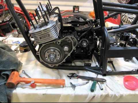 RccVideo's Dragbike Build Trac Dynamics Suzuki Gs1100 drag bike gs 1100