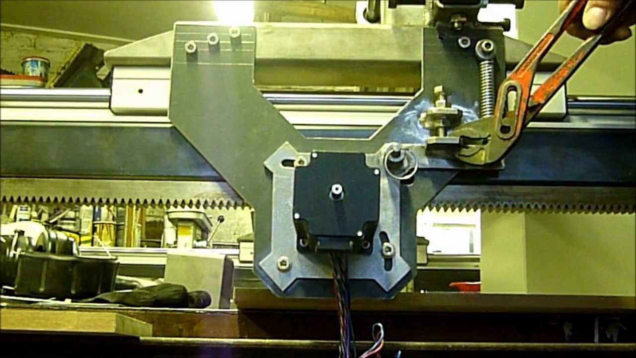 Sjuul Cnc Quick Release Rack And Pinion System Youtube