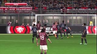 Pro Evolution Soccer 2014 (PES 2014) AC Milan V Inter