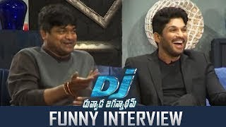 Duvvada Jagannadham Movie Interview
