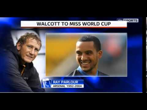 Ray Parlour on Theo Walcott's injury