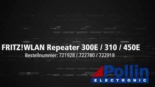 Quick Start Einrichtung: AVM FRITZ! WLAN Repeater 300E