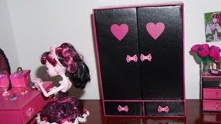 Como Fazer Guarda-roupa #2 Para Boneca Monster High