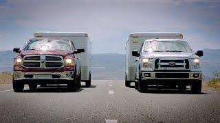 2015 Ford F-150 Towing Test VS. Ram 1500 & Chevy Silverado