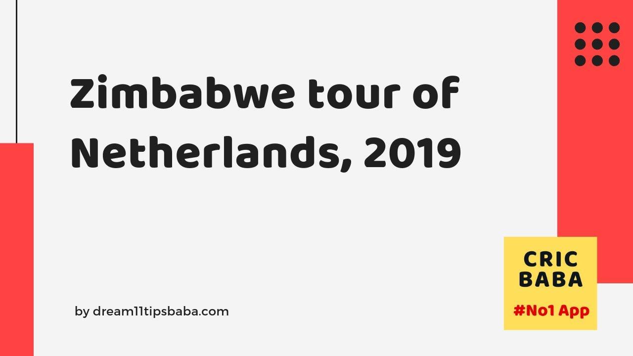 Netherlands vs Zimbabwe 1st ODI - Dream11 Prediction by Cric Baba