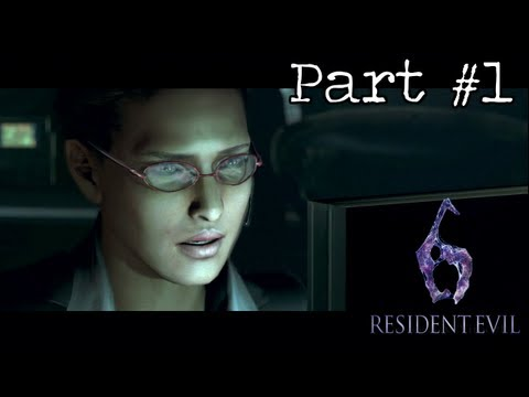 Resident Evil 6 - Leon Campaign Walkthrough (Part 1) - Chapter 1-1
