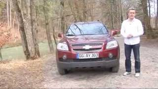 Chevrolet Captiva Features Demo videos