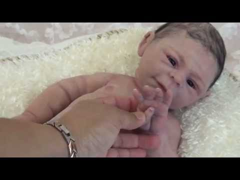 Hope Prototype 2  Full Body Solid Silicone  Baby Doll By Claire Taylor