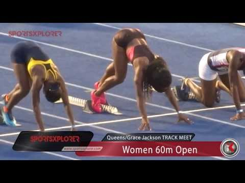 Shelly-Ann Fraser-Pryce wins season opener (60m) - 2014 Queens/Grace Jackson meet - SportsXplorer
