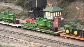 Ralphstrains Military And John Deere Ho Scale Model Train