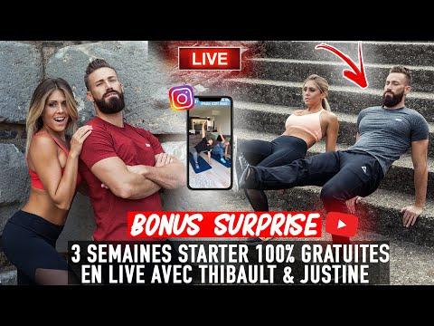 3 SEM EN LIVE 100% GRATUIT - SEANCE FITNESS