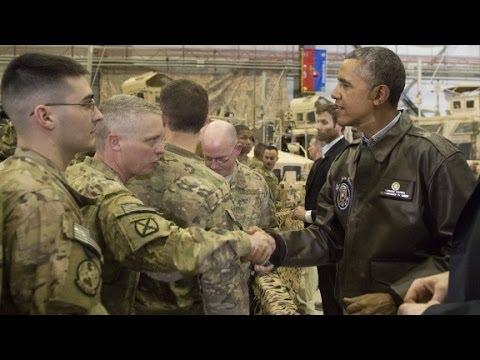 Obama visits Afghanistan