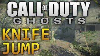 Call Of Duty Ghosts: Siege KNIFE JUMP / Best Sniping Spot