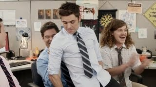 Zac Efron Sexy Lap Dance With Workaholics VIDEO