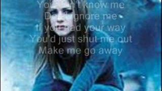 Unwanted Avril Lavigne W/ Lyrics