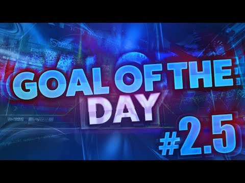 NUTTY ANGLE CEILING SHOT | Goal of the Day #2.5 (Rocket League Best Goals/Highlights)