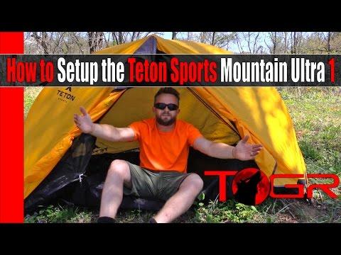How to Setup the Teton Sports Mountain Ultra 1