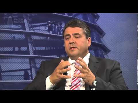 Sigmar Gabriel im Interview