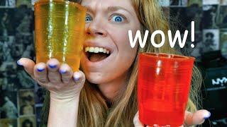 PINTERTEST- EDIBLE JELLO GLASSES!
