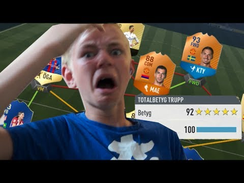 VAD HAR HÄNT MED FIFA??? - FIFA 17 FUT DRAFT SVENSKA
