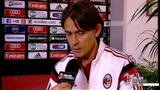 """Inzaghi: """"Daremo il massimo con il Napoli""""   AC Milan Official"""