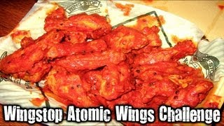 All Comments On Wingstop Atomic Wings Challenge Vomit