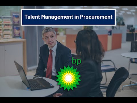 BP: embracing talent management in procurement