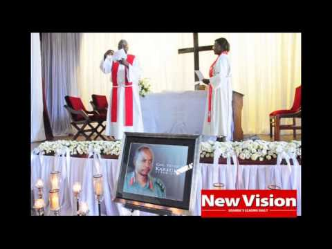 KAREGEYA'S MASS AT NAKASERO CHURCH