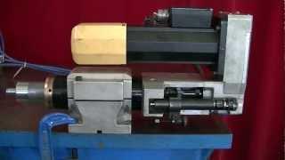 Sugino otomatik delik delme ünitesi ve hidrolik hız kontrol
