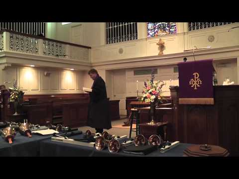 SERMON: Preached at First Presbyterian Church, Lockport, NY