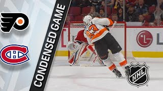 02/26/18 Condensed Game: Flyers @ Canadiens