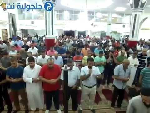 صلاة العشاء والتراويح 26 رمضان من مسجد البخاري في جلجولية -