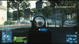 Battlefield 3 AS VAL Scoped .44 Magnum Conquest on Seine Crossing