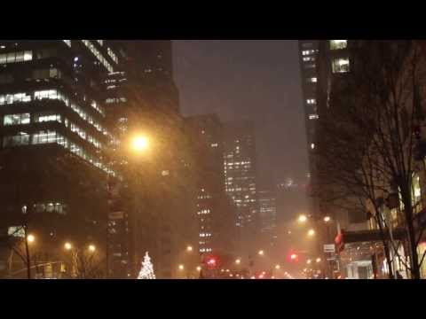 Snowstorm Hercules Hits NYC - Jan 2nd, 2014 - Northeast Winter Blizzard - Manhattan