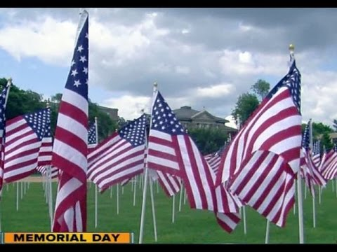 1,000 American flags planted as tribute to fallen veterans